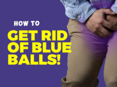 how to get rid of blue balls