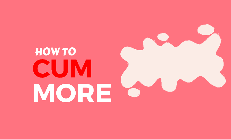 how to cum harder